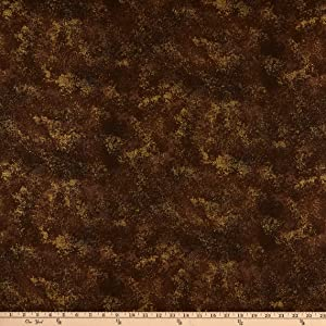 RJR Shiny Objects Rustic Shimmer Metallic Hickory Quilt Fabric By The Yard