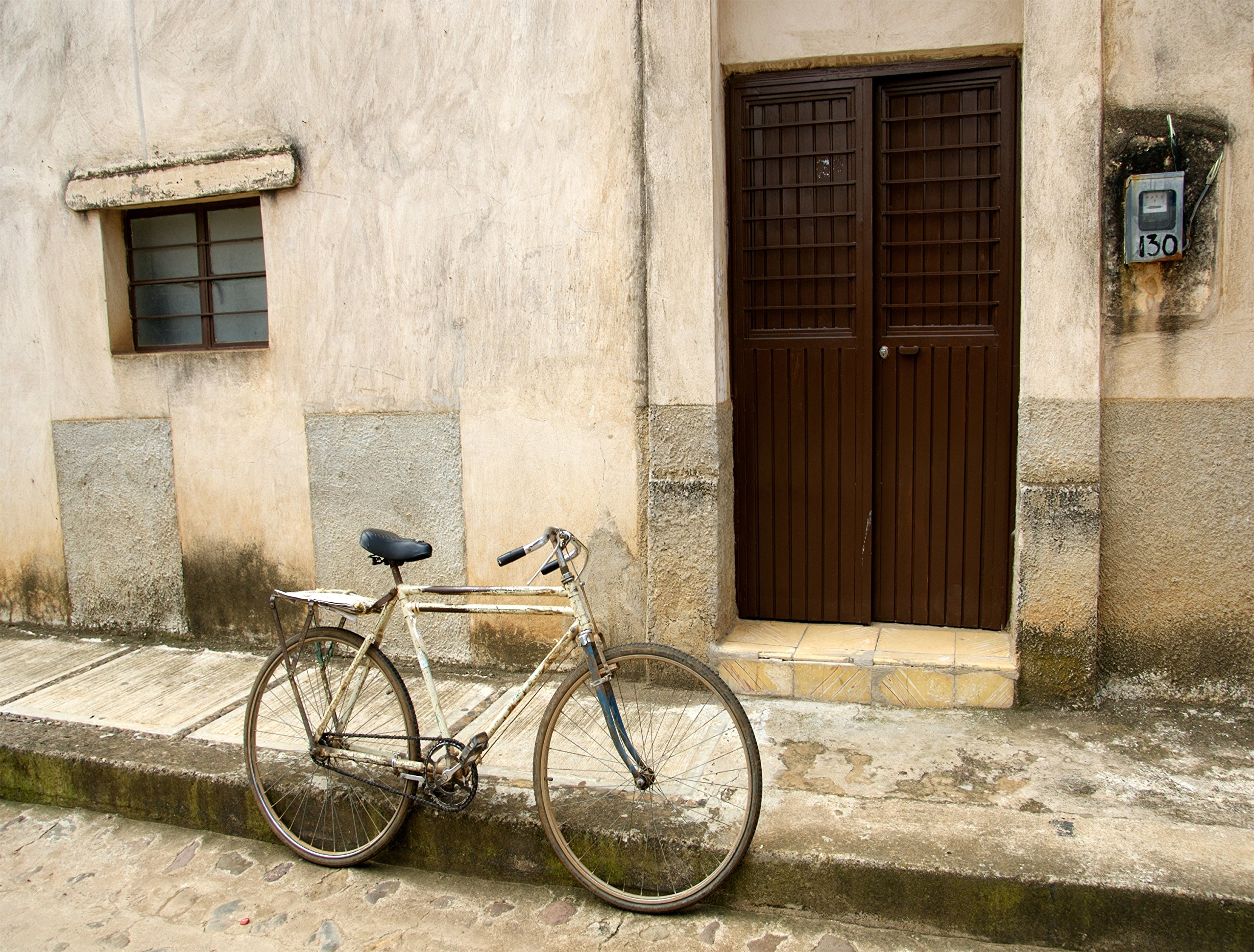 Bicycle in Mexico BIG Art Photo by Verlangieri