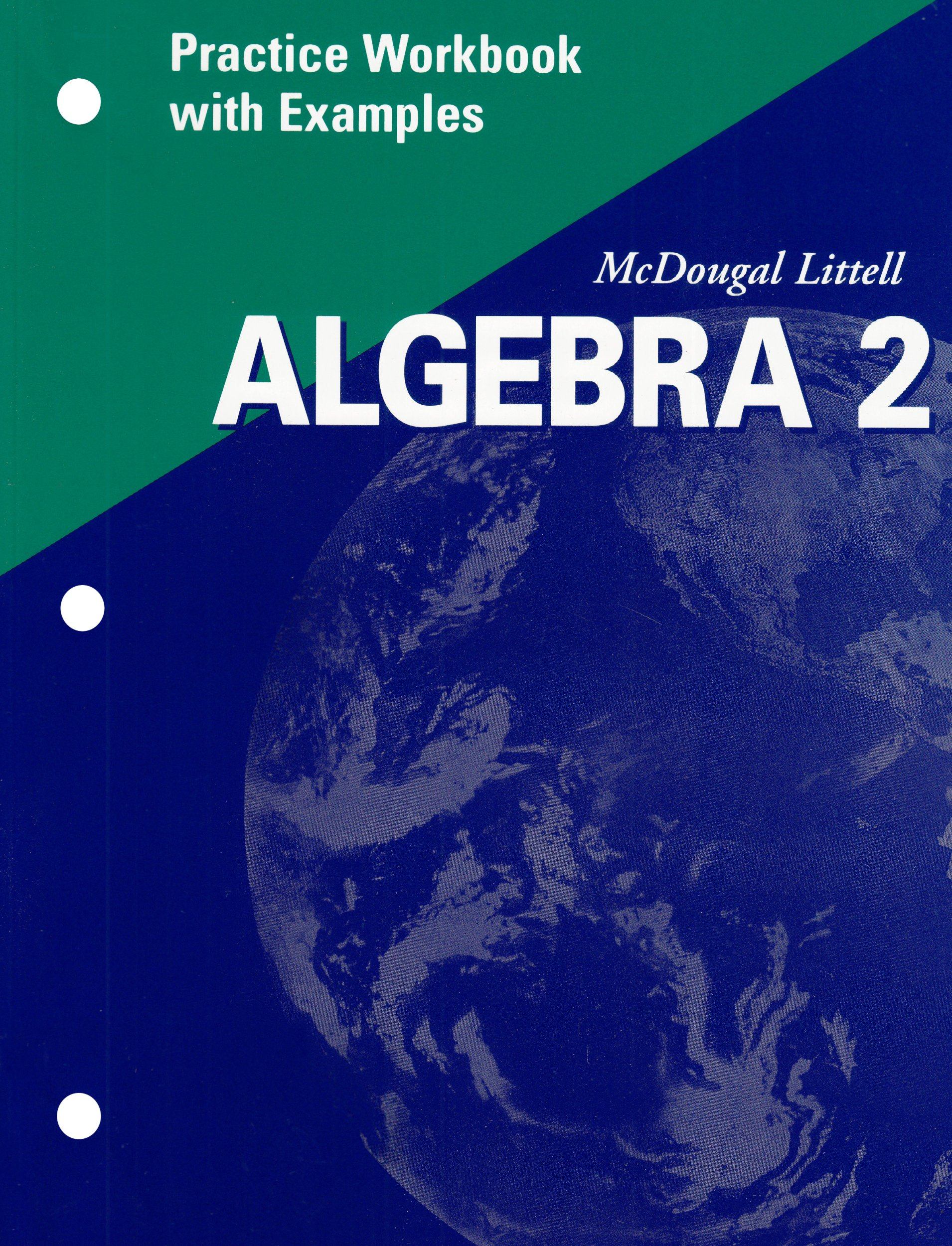 Amazon algebra 2 practice workbook with examples 9780618020348 amazon algebra 2 practice workbook with examples 9780618020348 mcdougal littel books fandeluxe Choice Image