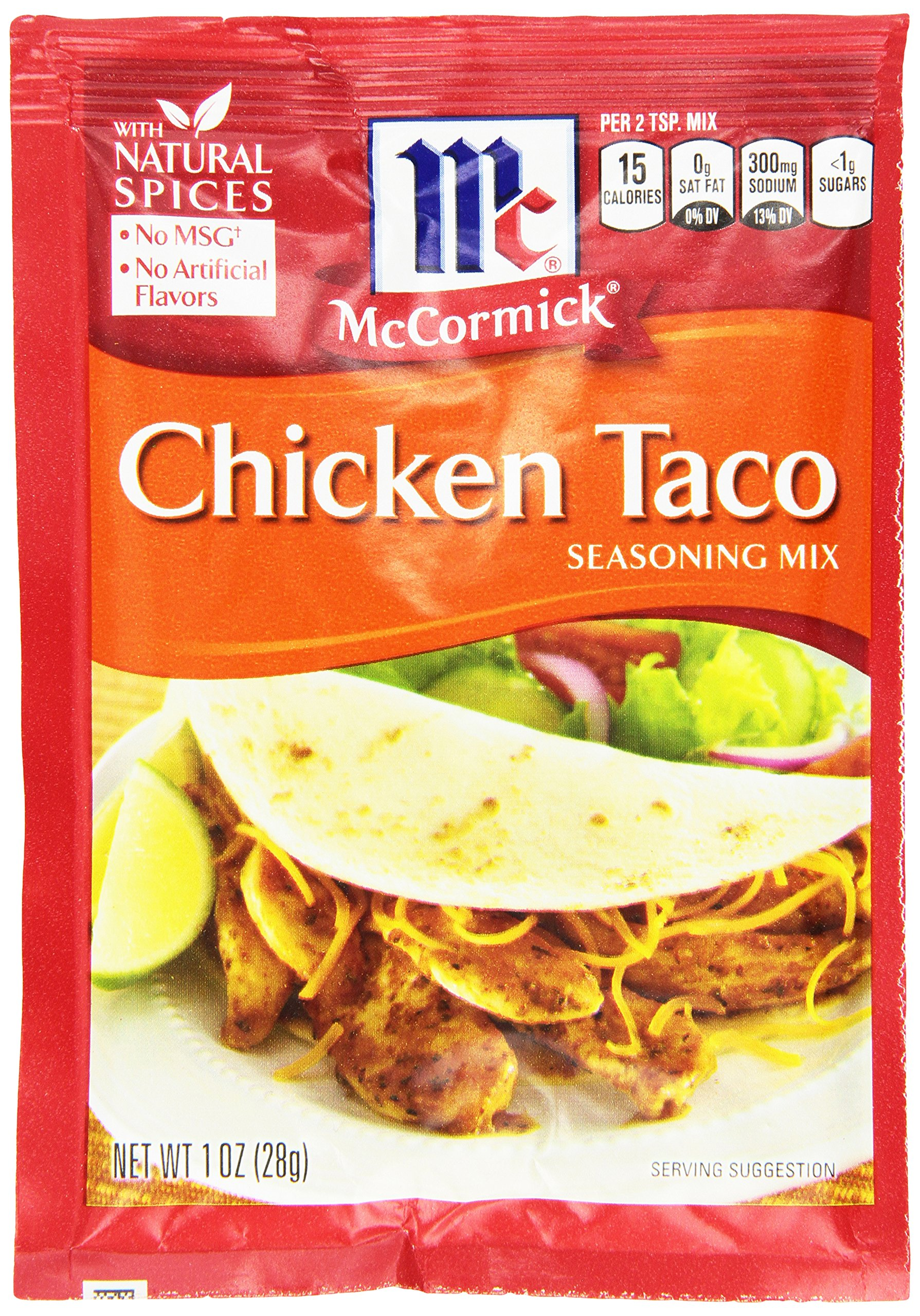 Amazon Old El Paso Low Salt Taco Seasoning Mix 1 Ounce