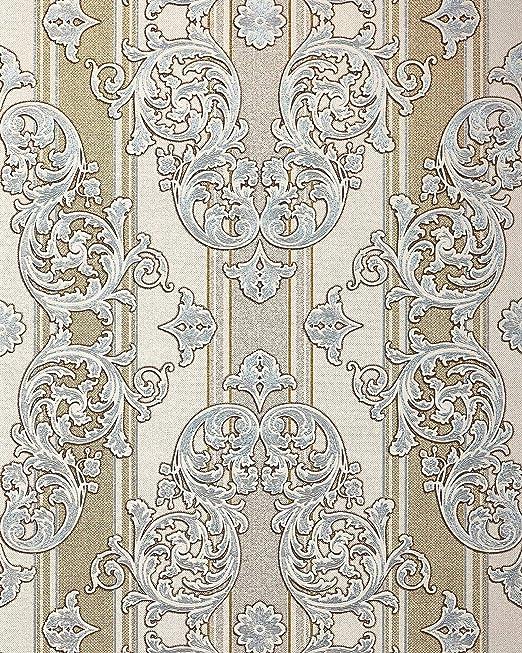 Amazon Com Baroque Wallpaper Wall Edem 580 30 Blown Vinyl