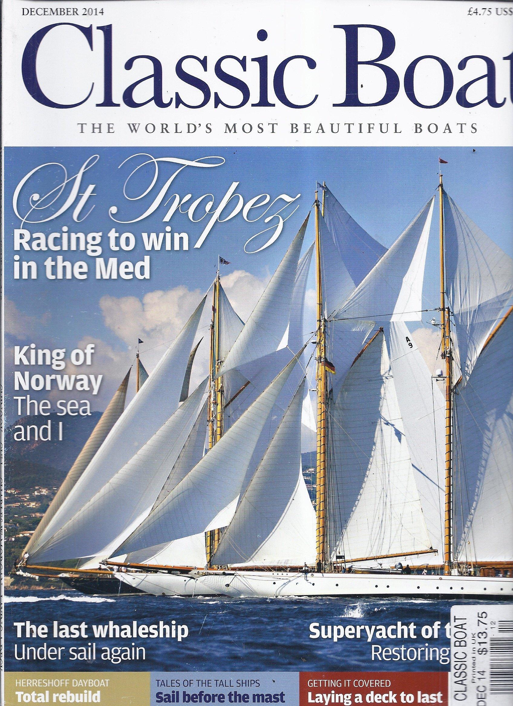 Classic Boat Magazine (December 2014 - St. Tropez) PDF