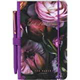 Ted Baker Mini Notebook and Pen, Shadow Flora