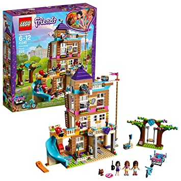 Lego Friends Christmas Sets.Lego Friends Friendship House 41340 Kids Building Set With Mini Doll Figures Popular Girl Toys For Christmas And Valentines Gifts 722 Pieces