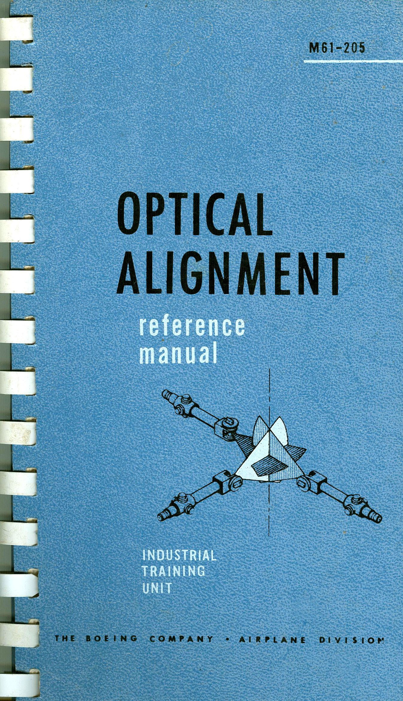 Optical Alignment Reference Manual Spiral-bound – 1965