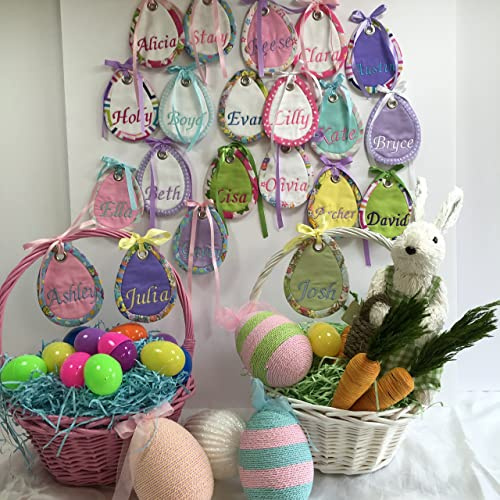 Amazon customized easter basket name tags handmade customized easter basket name tags negle Image collections