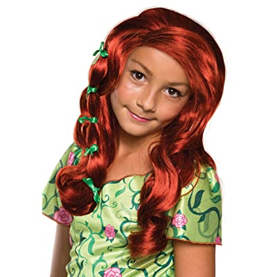 Rubie's Costume Girls DC Super Hero Poison Ivy Wig: Toys & Games