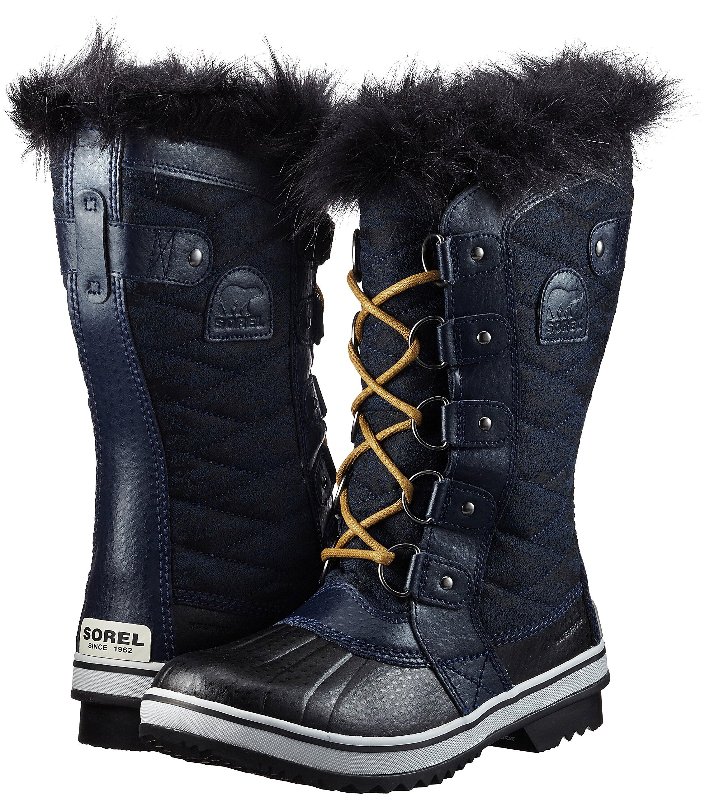 SOREL Women's 10.25 in. Tofino II Waterproof Boots, Collegiate Navy/Glare Blue 9 by SOREL (Image #5)