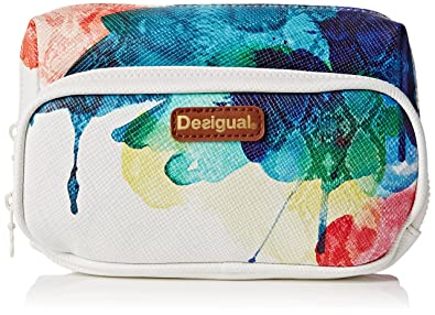 Desigual Pouch_Two Pockets Aquarelle, Monedero para Mujer ...