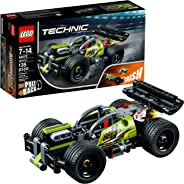 LEGO Technic WHACK! 42072  Building Kit with Pull Back Toy Stunt Car, Popular Girls and Boys Engineering Toy for Creative Pla