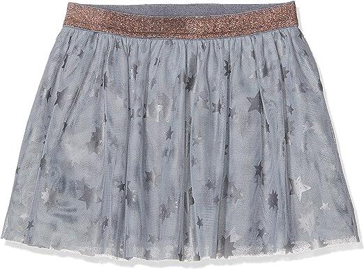 boboli Tulle Skirt For Girl Falda, Gris (Grey 8096), 7 años ...