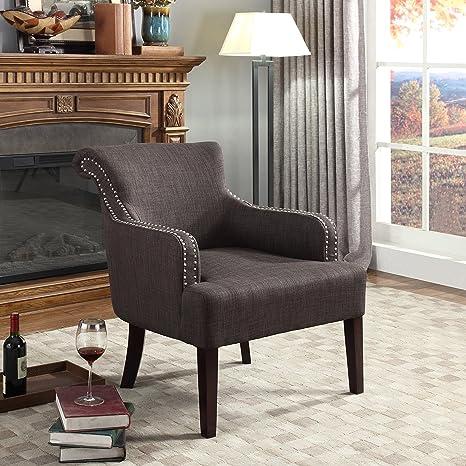 Amazon.com: Mejor Master muebles Regency salón Sólido Accent ...