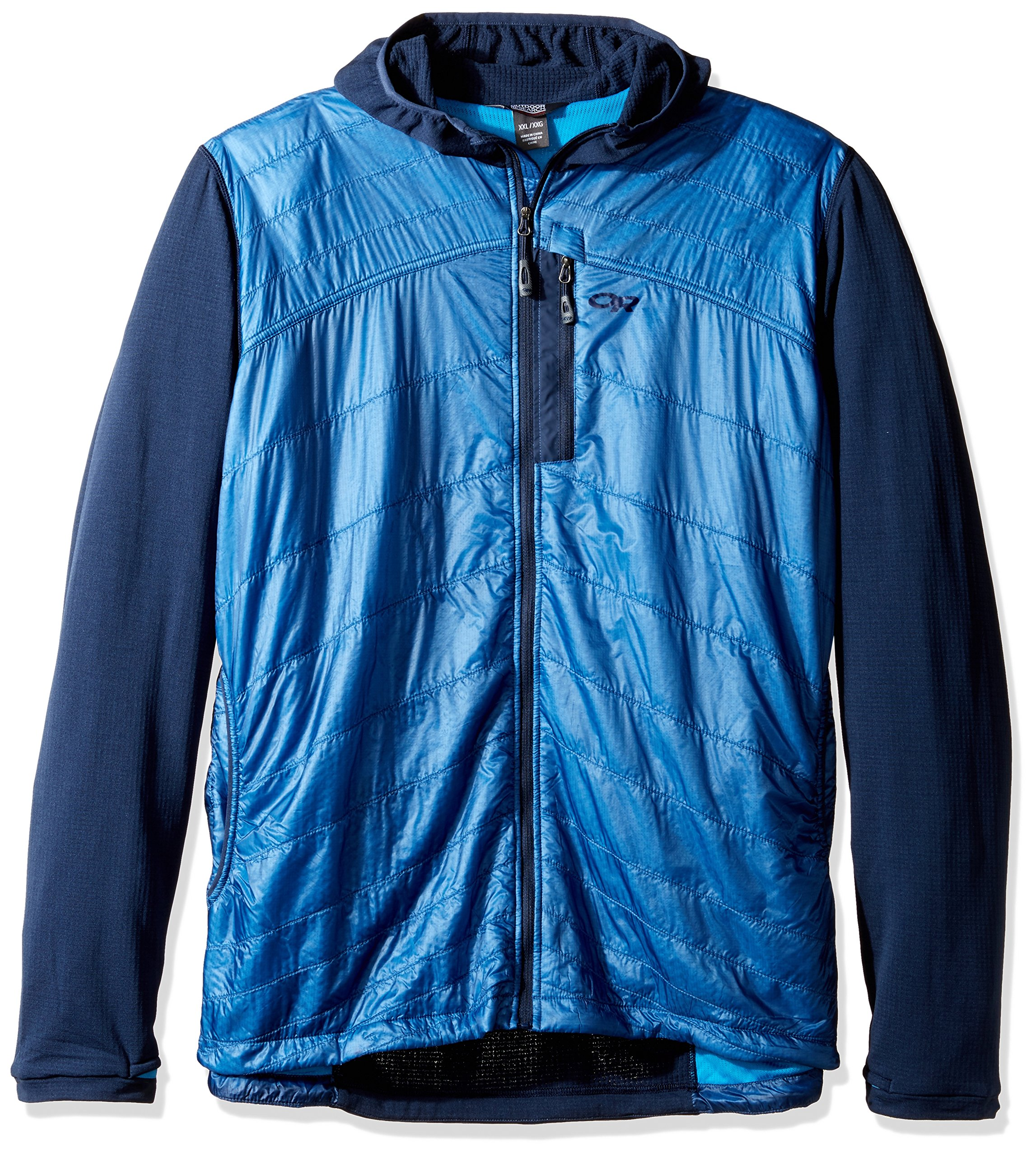 Outdoor Research Men's Deviator Hoody, Night/Hydro, XX-Large