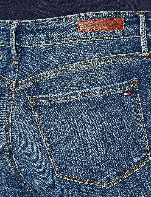 Tommy Hilfiger Como Skinny RW Doran Jeans Straight Donna