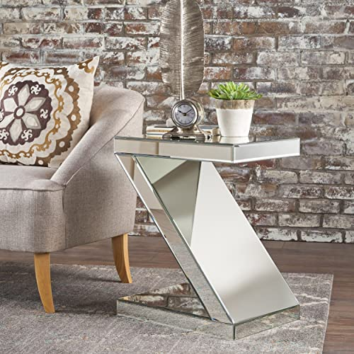 Christopher Knight Home Auda Z-Shaped Side Table