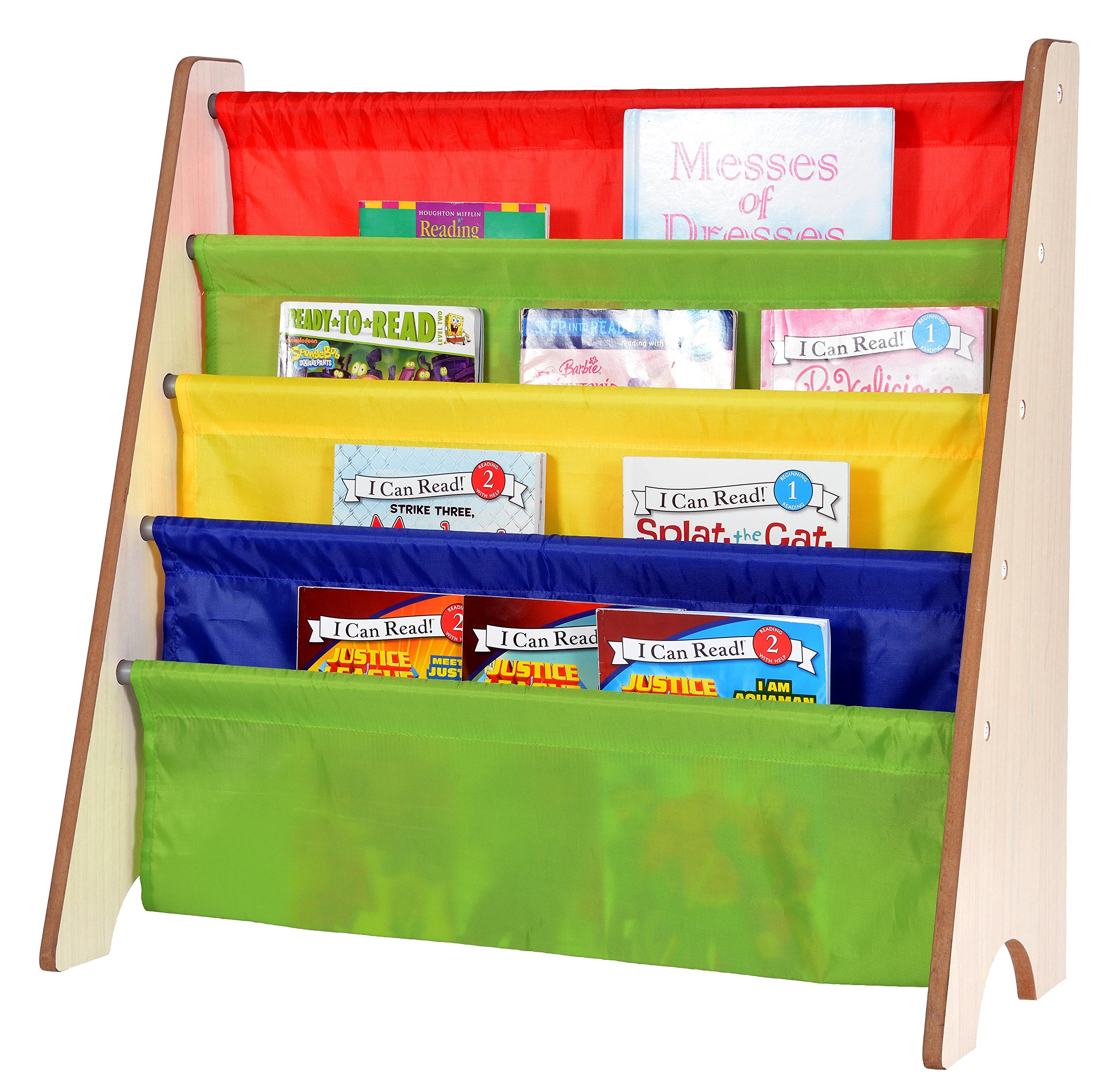 childrens book rack delta children deluxe multi bin organizer 2169