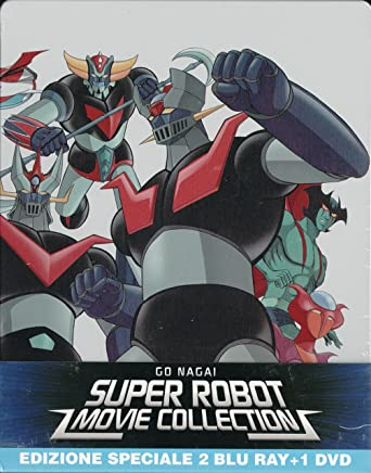 Go nagai super robot movie collection 2 bluray 1 dvd: amazon.it