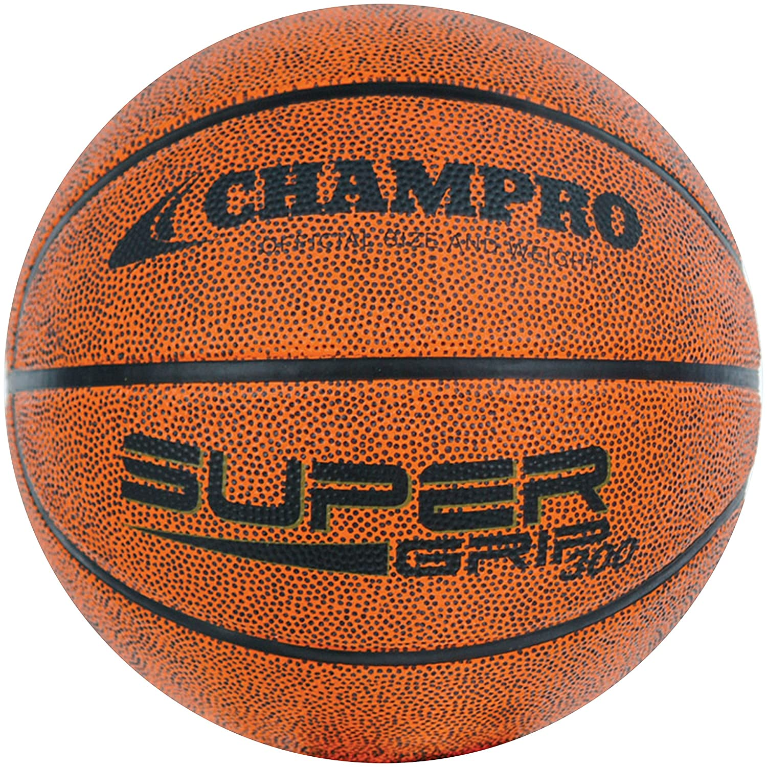 Brown, 28.5 BB32 Champro Womens Easy Grip Rubber Basketball