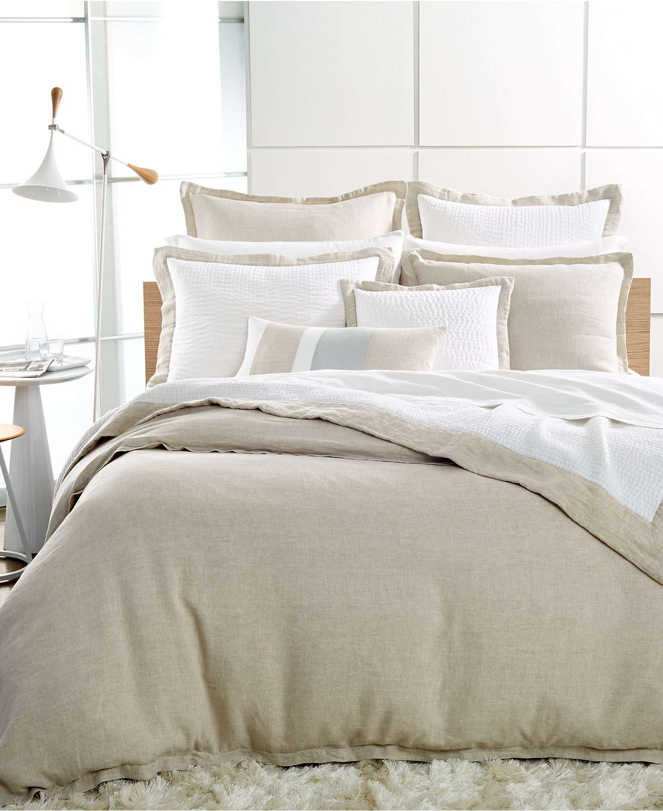 Hotel Collection Linen Natural Duvet Covers - Duvet Covers - Bed & Bath - Macy's
