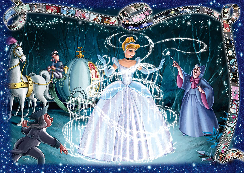 Ravensburger Disney Collector\'s Edition Cinderella 1000pc Jigsaw ...