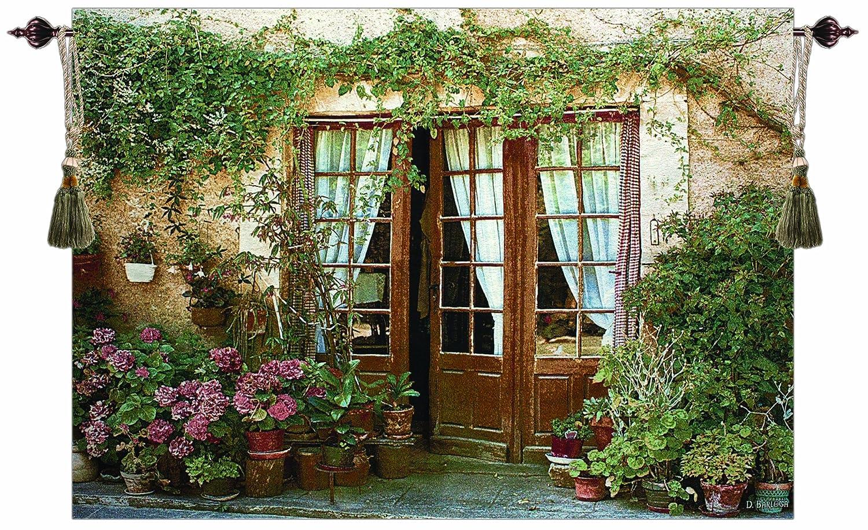 amazon com manual 24 pots grande tapestry wall hanging x artist amazon com manual 24 pots grande tapestry wall hanging x artist dennis barloga 70 x 50 inch home kitchen