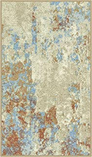 product image for Maples Rugs Southwestern Stone Distressed Abstract Kitchen Rugs Non Skid Accent Area Floor Mat [Made in USA], 1'8 x 2'10, Multi