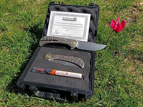 Folder Knife Gudy Van Poppel Bullet – G-Editions -Titanium M390 Steel