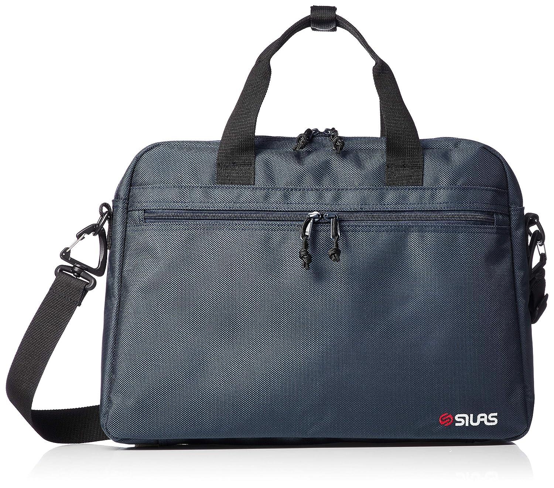 [サイラス] DOCUMENT BAG 10192005 B07PYW6GL9 ネイビー