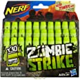 Refil Nerf Zombie 30 Dardos Nerf Verde