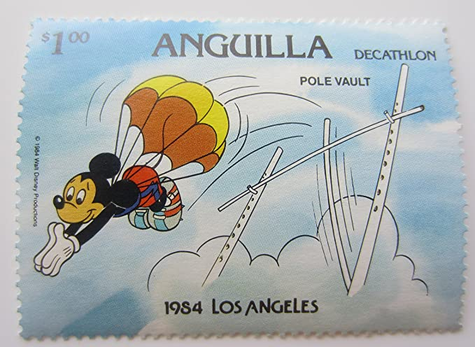 Amazon.com: Disney 1984 Los Angeles Olympics Decathlon Two ...