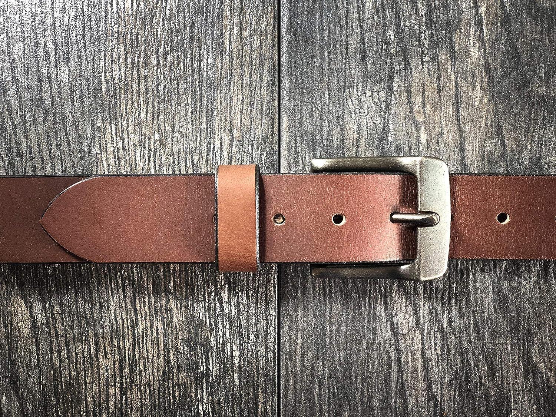 Light Brown Handmade Leather Belt Men Genuine Best Dress Full Grain Casual Quality