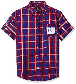 FOCO NFL Wordmark - Camiseta de franela básica para hombre, manga corta, hombre,