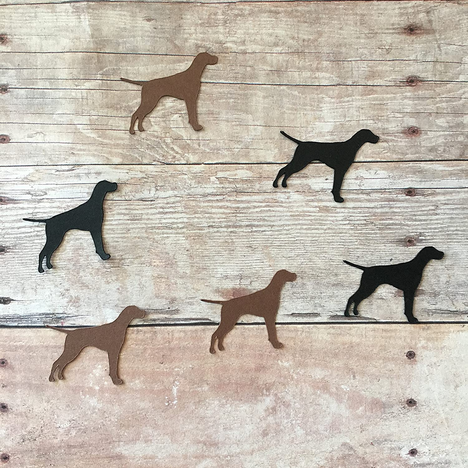 Dog Cut Out Dog Decorations Sticker Dog Theme Table Scatter Dog Party Supplies Pet Decorations English Pointer Vinyl Stickers Animal Party Supplies
