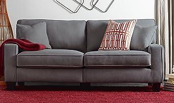 Amazoncom Serta RTA Palisades Collection 73 Sofa in Glacial