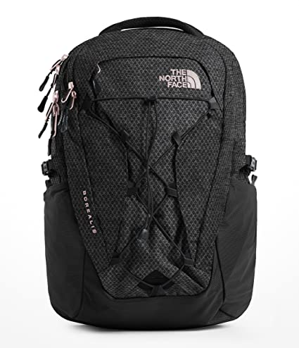 15961ed5c The North Face Borealis Backpack - Women's TNF Black Heather/Burnt Coral  Metallic
