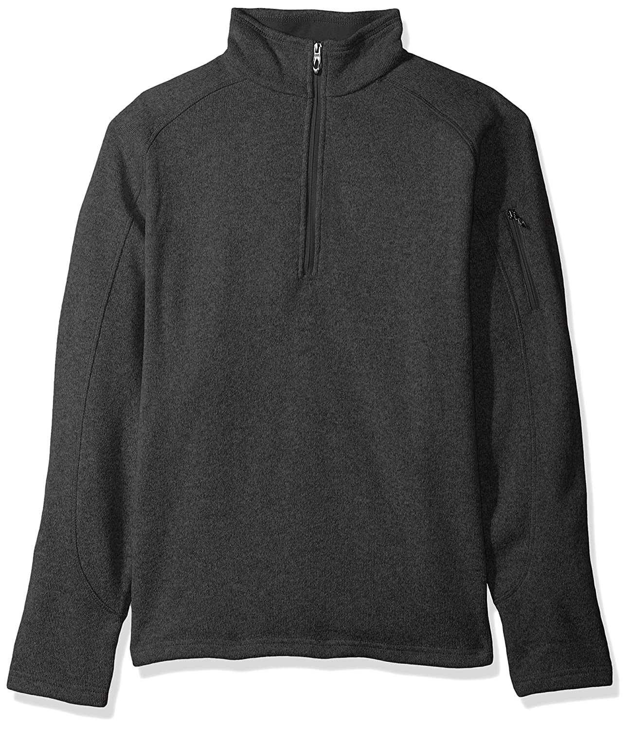 Key Apparel Polar King Men's Quarter Zip Sweater Knit Pullover