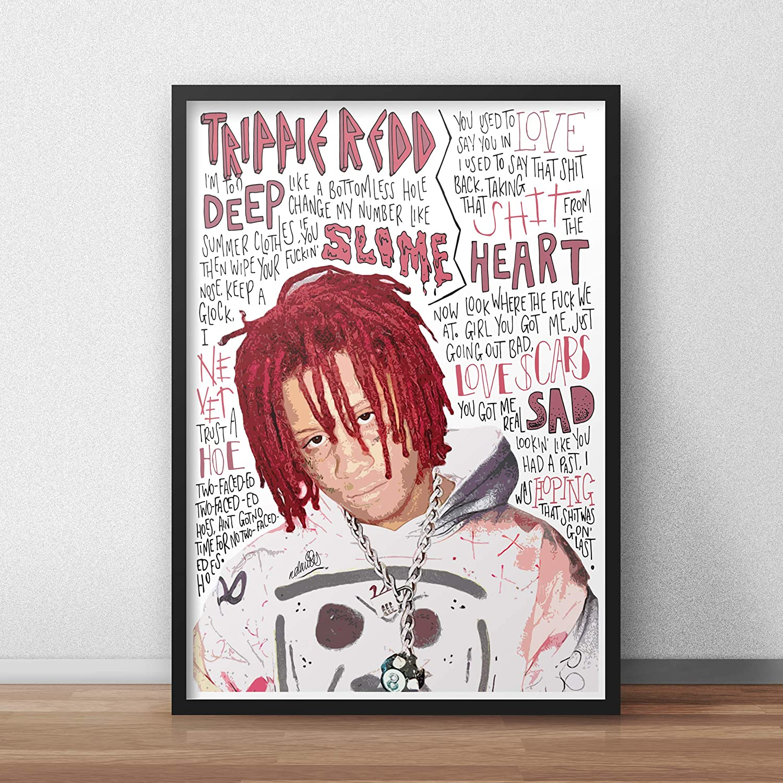 Trippie Redd INSPIRED Poster//Print