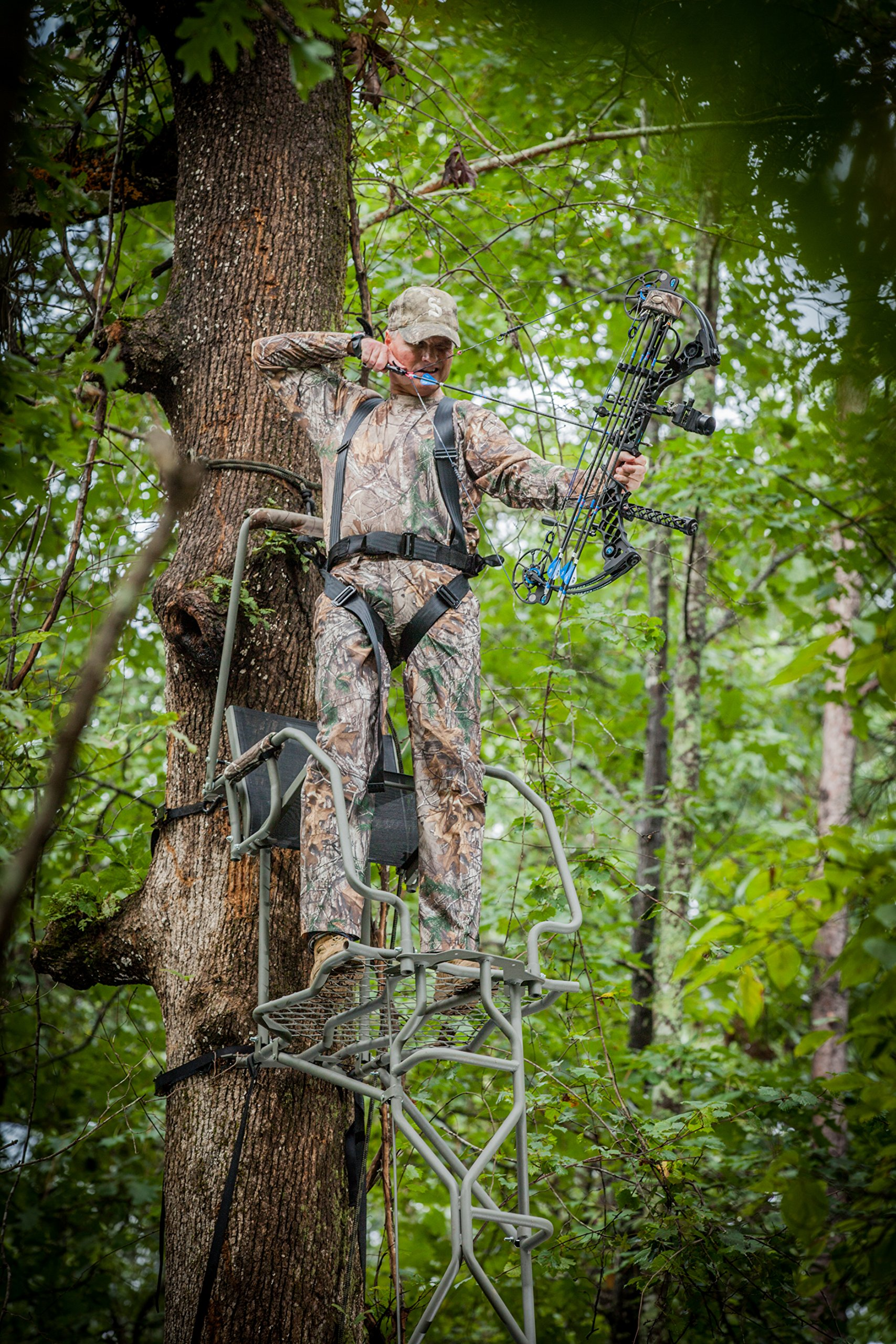 Summit Treestands The Vine Single Hunter Ladder Stand by Summit Treestands (Image #4)