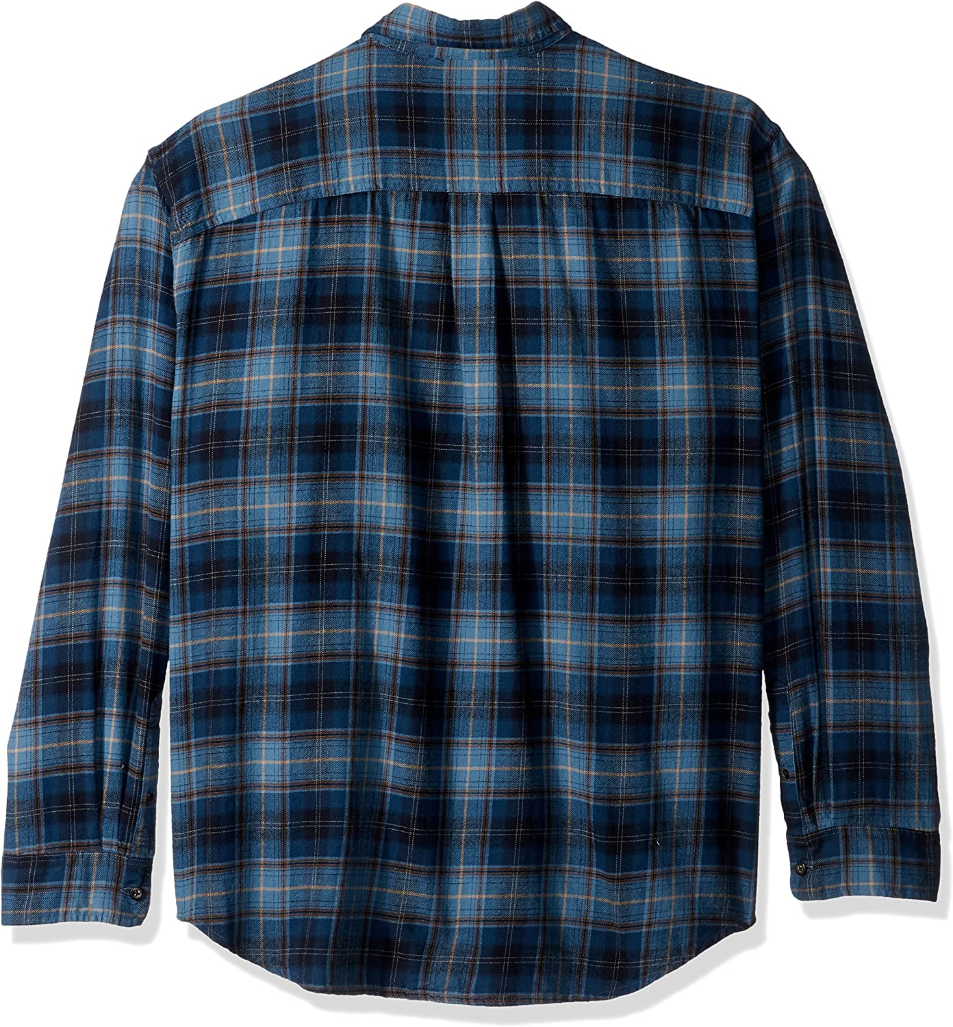 Bass /& Co G.H Mens Big and Tall Fireside Flannels Long Sleeve Button Down Shirt