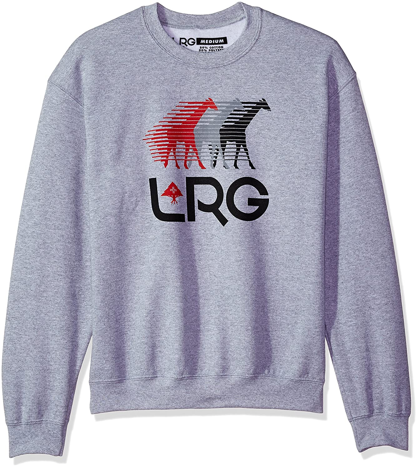 LRG Men's Front Runners Crewneck