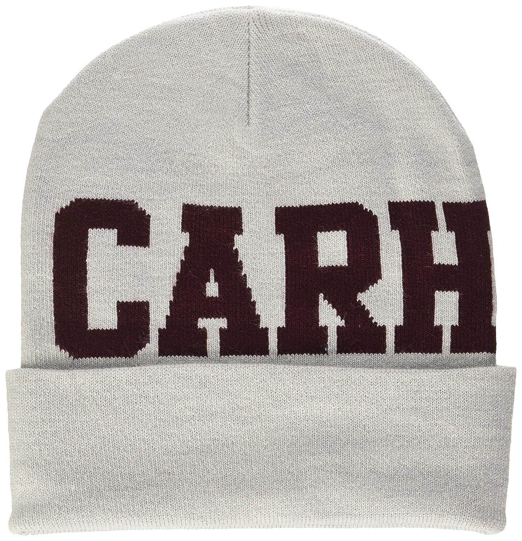 Carhartt College Beanie Sombrero, Gris (Ash Heather), Talla única ...