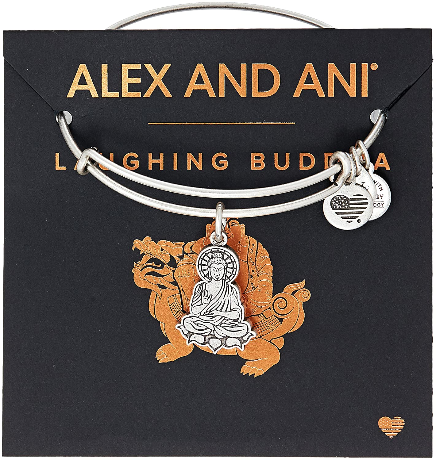 Alex Ani Buddha Bangle Bracelet Image 2
