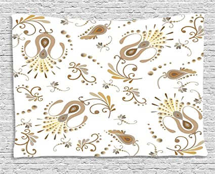 664aa23a30 Amazon.com  Ambesonne Beige Decor Collection