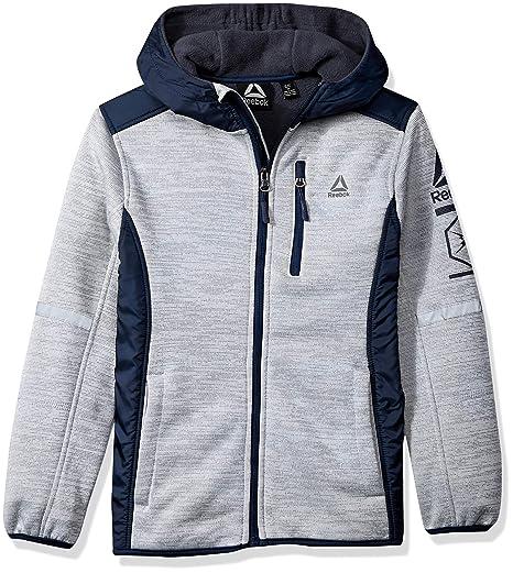 35718489d5406 Reebok Boys' Active Simple Soft Fleece Jacket