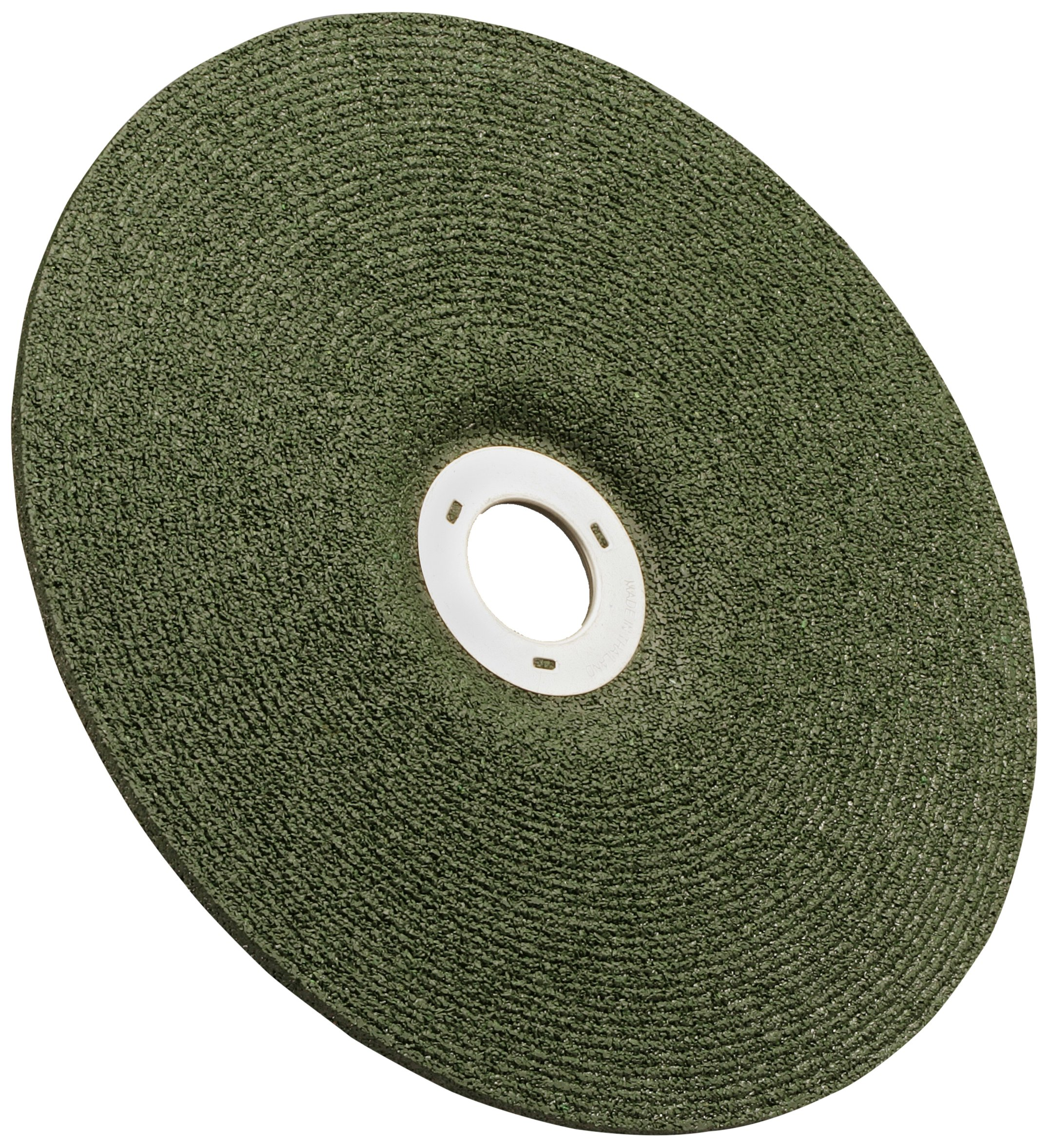 3M(TM) Green Corps(TM) Cutting/Grinding Wheel, Ceramic Aluminum Oxide, 4-1/2'' Diameter x 1/8'' Thick, 7/8'' Center Hole Diameter, 36 Grit, 13300 rpm, Green  (Pack of 20) by 3M