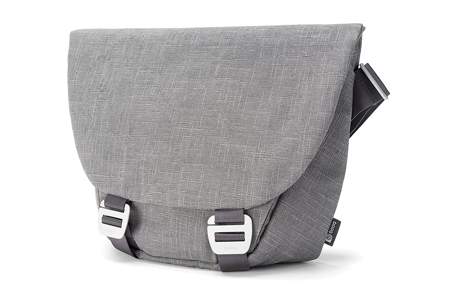 Gray Booq Shadow Fibre Messenger Bags