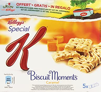 KelloggS - Special K - Biscuit Moments Caramel - 5 barras