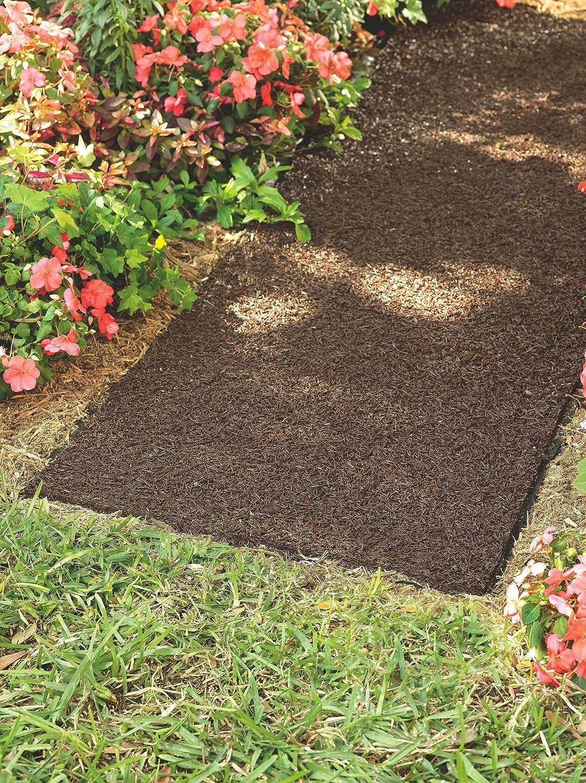 Amazon.com : Plow & Hearth 51522 Permanent Mulch Pathway : Garden ...