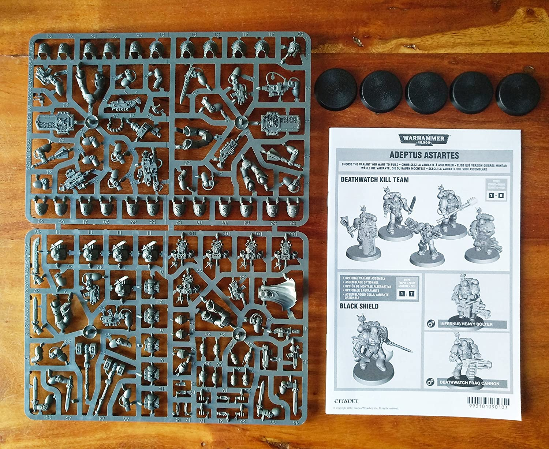 Games Workshop 99070109001/Gescheckter Upgrades Action Figur