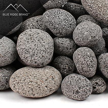 Blue Ridge Brand™ Lava Rock - 50-Pound Tumbled Lava Stone Assortment  for Fire - Amazon.com: Blue Ridge Brand™ Lava Rock - 50-Pound Tumbled
